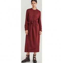 Sukienka midi ReDesign - Fioletowy. Fioletowe sukienki marki Reserved, midi. Za 279,99 zł.