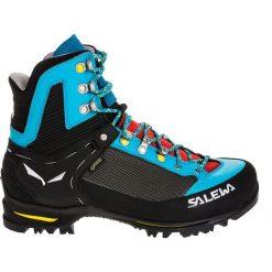 Buty trekkingowe damskie: Salewa Buty damskie Raven 2 GTX czarno-niebieskie r. 38.5 (61327-8593)