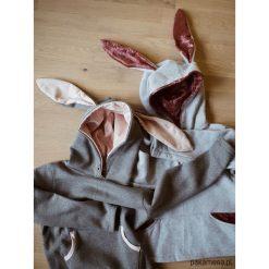 Bluzy dziewczęce rozpinane: Bluza Królik z uszami