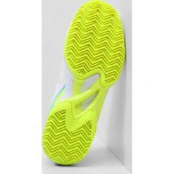 Buty sportowe damskie: Mizuno WAVE EXCEED CLAYCOURT  Obuwie do tenisa Outdoor white/blueradiance/yellow
