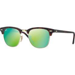 """Okulary przeciwsłoneczne męskie: Okulary przeciwsłoneczne """"RB3016 114519"""" w kolorze brązowym"""