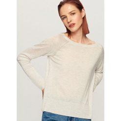 Sweter - Jasny szar. Szare swetry klasyczne damskie Reserved, m. W wyprzedaży za 29,99 zł.