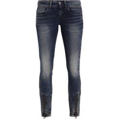 GStar LYNN ZIP GRIP MID SKINNY  Jeans Skinny Fit dark aged. Szare jeansy damskie marki G-Star. W wyprzedaży za 494,25 zł.