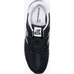 New Balance - Buty U520CE. Czarne halówki męskie New Balance, z gumy, na sznurówki. W wyprzedaży za 239,90 zł.