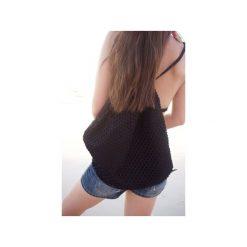 Plecak don't-mesh-with-me. Czarne plecaki damskie Desert snow, z bawełny. Za 69,00 zł.