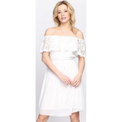 Sukienki: Biała Sukienka Grace Kelly