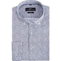 Koszula SIMONE KDWS000213. Niebieskie koszule męskie na spinki marki Giacomo Conti, m, z tkaniny, klasyczne. Za 199,00 zł.