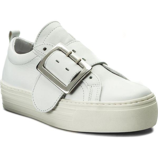 b2eadbc5c8d2 Sneakersy BRONX - 66047-AA BX 425 White 4 - Białe półbuty damskie ...