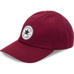 Czapka z daszkiem CONVERSE - 608747 Bordowy. Czerwone czapki z daszkiem damskie Converse, z bawełny. Za 89,00 zł.