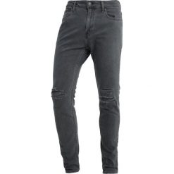 Hollister Co. Jeansy Slim Fit dark grey. Szare rurki męskie Hollister Co. Za 249,00 zł.