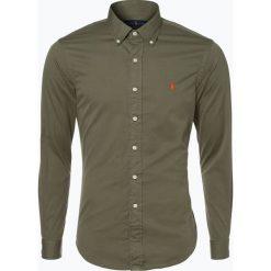Polo Ralph Lauren - Koszula męska, zielony. Zielone koszule męskie na spinki marki Polo Ralph Lauren, m, z haftami, button down. Za 249,95 zł.