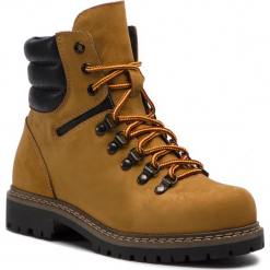 Trapery SERGIO BARDI - Itala FW127373818GR  452. Brązowe buty zimowe damskie Sergio Bardi, z nubiku. W wyprzedaży za 239,00 zł.