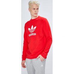 Adidas Originals - Bluza. Szare bluzy męskie rozpinane adidas Originals, m, z nadrukiem, z bawełny, bez kaptura. Za 249,90 zł.