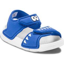 Sandały adidas - AltaSwim I CQ0054 Hirblu/Ftwwht/Hirblu. Niebieskie sandały chłopięce Adidas, z materiału. Za 99,00 zł.