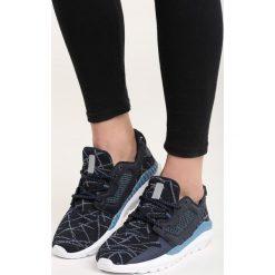 Granatowe Buty Sportowe Huxley. Fioletowe buty sportowe damskie marki NEWFEEL, z poliesteru, do biegania. Za 69,99 zł.