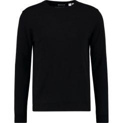 Swetry klasyczne męskie: Gant Rugger Sweter black