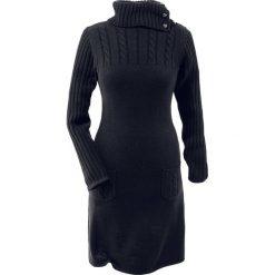 Sukienki dzianinowe: Sukienka z dzianiny bonprix czarny