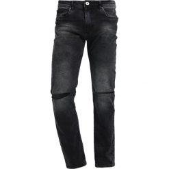 Pier One Jeansy Slim Fit black denim. Czarne jeansy męskie marki Pier One. W wyprzedaży za 126,65 zł.
