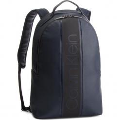 Plecak CALVIN KLEIN - Strike Round Backpack K50K504279 068. Niebieskie plecaki męskie Calvin Klein, ze skóry ekologicznej. Za 599,00 zł.