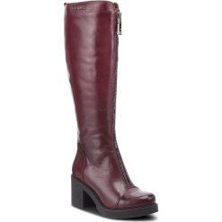 Kozaki EVA MINGE - Rinconada 4L 18SM1372493EF 134. Czerwone buty zimowe damskie Eva Minge, ze skóry ekologicznej. W wyprzedaży za 459,00 zł.
