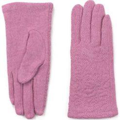 Rękawiczki damskie: Art of Polo Rękawiczki damskie Eleganckie esy-floresy różowe (rk16512)
