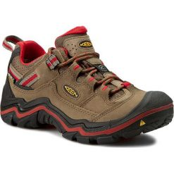 Buty trekkingowe damskie: Keen Buty damskie DURAND LOW WP kolor shitake/racing red r. 37.5 (DURANLW-WN-SHRR)