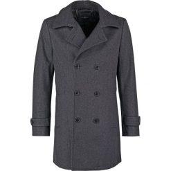 Pier One Krótki płaszcz dark grey. Szare płaszcze wełniane męskie marki Pier One, m. Za 549,00 zł.