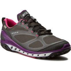 Półbuty ECCO - Biom Venture GORE-TEX 82070350245 Black/Titanium/Imperial Purple. Czarne półbuty damskie skórzane ecco, sportowe, na niskim obcasie. W wyprzedaży za 429,00 zł.