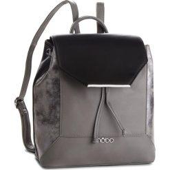 Plecak NOBO - NBAG-F0760-CM20 Multi Czarny. Szare plecaki damskie Nobo, ze skóry ekologicznej. W wyprzedaży za 159,00 zł.