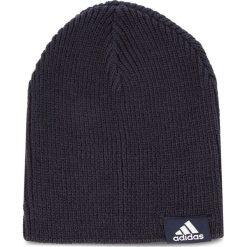 Czapka adidas - Perf Beanie DJ1056 Legink/Legink/White. Niebieskie czapki zimowe damskie Adidas, z materiału. Za 59,95 zł.