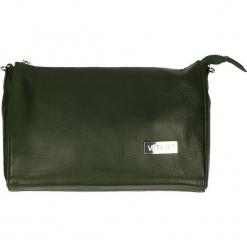 Torebka - 4-144-M S CIP. Szare torebki klasyczne damskie Venezia, w paski, ze skóry. Za 119,00 zł.
