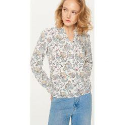 Koszula we wzory - Biały. Białe koszule chłopięce marki Reserved, m. Za 79,99 zł.