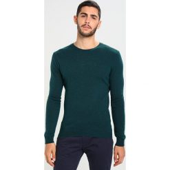 Swetry klasyczne męskie: Sisley Sweter dark green