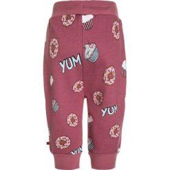 Spodnie chłopięce: Småfolk PANTS WITH CUPCAKE Spodnie treningowe mesa rose