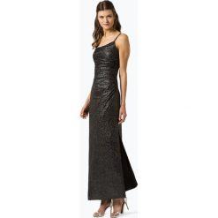 Marie Lund - Damska sukienka wieczorowa, czarny. Czarne sukienki balowe marki bonprix, w paski, z dekoltem woda. Za 599,95 zł.