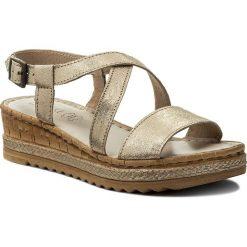 Sandały damskie: Sandały LASOCKI – H229 Złoty