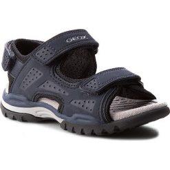 Sandały GEOX - J Borealis B. B J720RB 000BC C4002 Morski. Niebieskie sandały męskie skórzane marki Geox. W wyprzedaży za 249,00 zł.