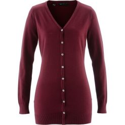 Długi sweter rozpinany bonprix czerwony klonowy. Szare swetry rozpinane damskie marki Mohito, l. Za 59,99 zł.