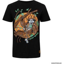 T - shirt Sloth. Czarne t-shirty męskie marki Pakamera, m, z kapturem. Za 89,00 zł.