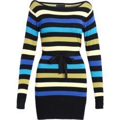 Czarna Sukienka Never See. Czarne sukienki dzianinowe Born2be, l, oversize. Za 39,99 zł.