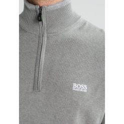 Swetry klasyczne męskie: BOSS Green ZIME Sweter light pastel grey