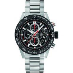 ZEGAREK TAG HEUER Carrera Automatic Calibre Heuer 01 CAR2A1W.BA0703. Czarne zegarki męskie TAG HEUER, ceramiczne. Za 23860,00 zł.