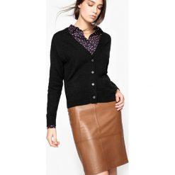Swetry damskie: Rozpinay sweter 100% kaszmiru