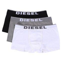 Diesel Bokserki Męskie 3 Pack Damien Xxl Wielokolorowe. Czarne bokserki męskie marki Diesel, z bawełny. Za 179,00 zł.