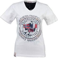 """T-shirty damskie: Koszulka """"Jashley"""" w kolorze białym"""