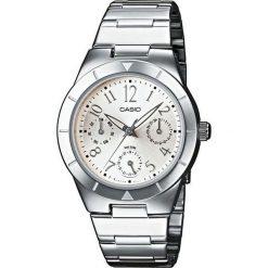Zegarek Casio Zegarek damski  Solira LTP-2069D -7A2VEF. Szare zegarki damskie CASIO. Za 238,00 zł.