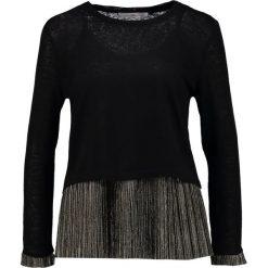 Swetry klasyczne damskie: Aaiko JOSEPHINE PES Sweter black