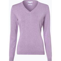 Brookshire - Sweter damski, lila. Czarne swetry klasyczne damskie marki brookshire, m, w paski, z dżerseju. Za 129,95 zł.