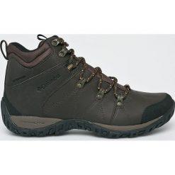 Columbia - Obuwie Peakfreak Venture Mid. Brązowe buty trekkingowe męskie Columbia, z materiału, outdoorowe, omni-heat (columbia). W wyprzedaży za 429,90 zł.
