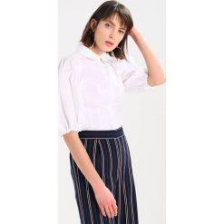 Koszule wiązane damskie: Karen Millen FITTED BALOON Koszula white